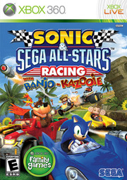Sonic & Sega All-Stars Racing with Banjo-Kazooie para XBOX 360