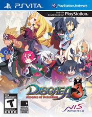 Disgaea 3: Absence of Detention para PS Vita