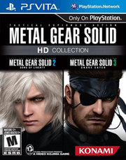 Metal Gear Solid HD Collection para PS Vita