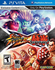 Street Fighter X Tekken para PS Vita