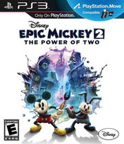 Epic Mickey 2: The Power of Two erro para PS3