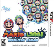 Mario & Luigi: Dream Team para 3DS