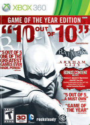 Batman: Arkham City Game of the Year Edition para XBOX 360