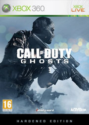 Call of Duty: Ghosts Hardened Edition para XBOX 360