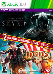 The Elder Scrolls V: Skyrim & Bioshock Infinite Bundle para XBOX 360