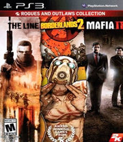 Rogues and Outlaws Collection:  Borderlands 2, Spec Ops: The Line e Mafia II para PS3