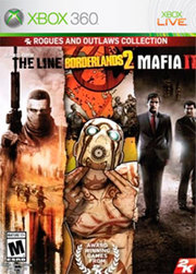 Rogues and Outlaws Collection: Borderlands 2, Spec Ops: The Line e Mafia II  para XBOX 360