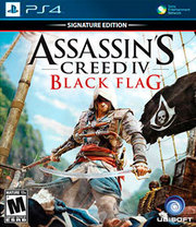 Assassin's Creed IV: Black Flag Signature Edition para PS4