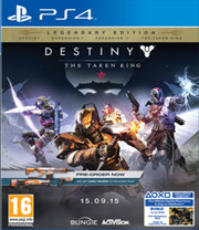 Destiny: The Taken King - Legendary Edition para PS4