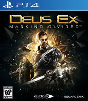 Deus Ex: Mankind Divided para PS4