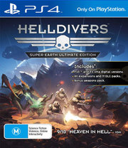 Helldivers: Super-Earth Ultimate Edition para PS4