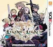 The Legend of Legacy para 3DS