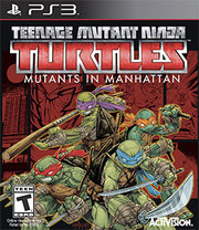 Teenage Mutant Ninja Turtles: Mutants in Manhattan para PS3