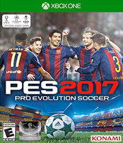 Pro Evolution Soccer 2017 para Xbox One