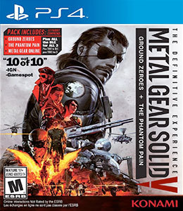 Metal Gear Solid V: The Definitive Experience para PS4