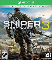 Sniper: Ghost Warrior 3 Limited Edition para Xbox One
