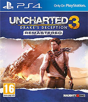 Uncharted 3: Drake's Deception Remastered para PS4