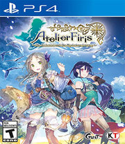 Atelier Firis The Alchemist and the Mysterious Journey para PS4