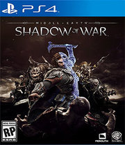 Middle-earth Shadow of War para PS4