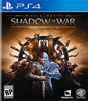Middle-earth Shadow of War Gold Edition para PS4