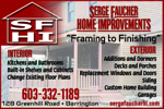 Serge Faucher Home Improvements & Remodeling