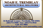 Noah Tremblay Architectural Millwork
