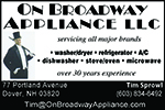 On Broadway Appliance, LLC