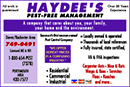 Haydee's Pest Free Management
