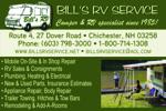 Bill's RV Service, Inc.