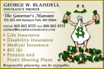 George W. Blaisdell Insurance Broker