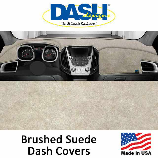Dash Designs Brushed Suede Dash Covers