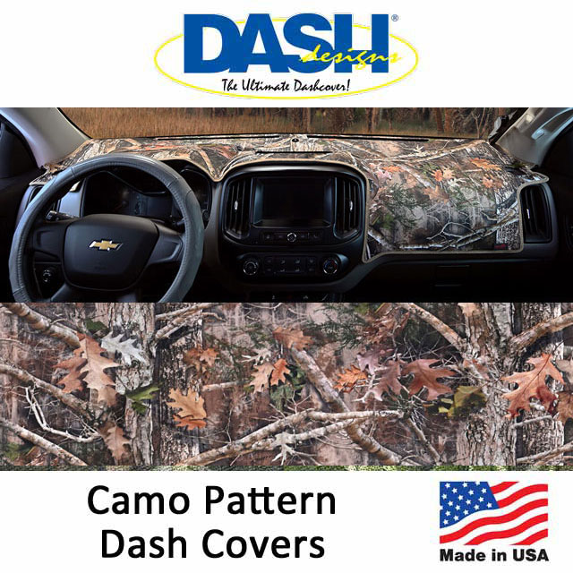 Dash Designs Camo Dash Covers