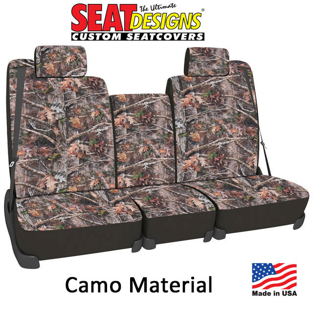 Camo Pattern Seat Covers