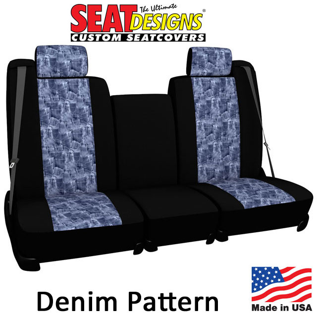 Denim Look Seat Covers