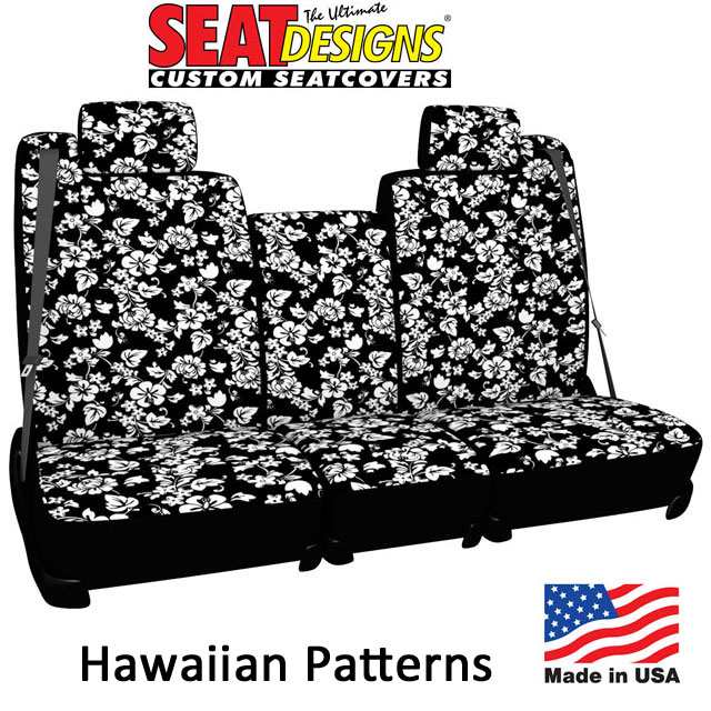 Hawaiian Pattern Seat Covers