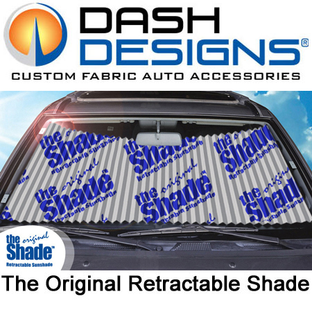 Dash Designs Original Retractable Windshield Shades
