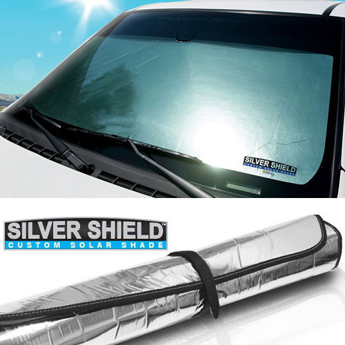 Dash Designs Silver Shield Custom Solar Shade