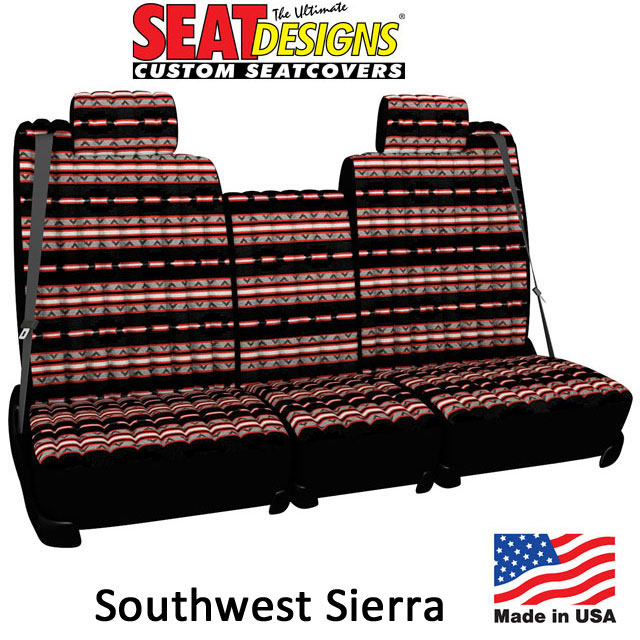 Southwest Sierra Seat Covers