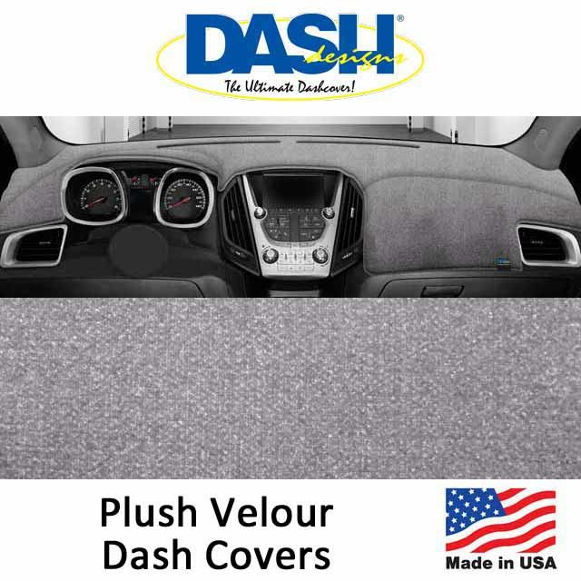 Dash Designs Plush Velour Dash Covers