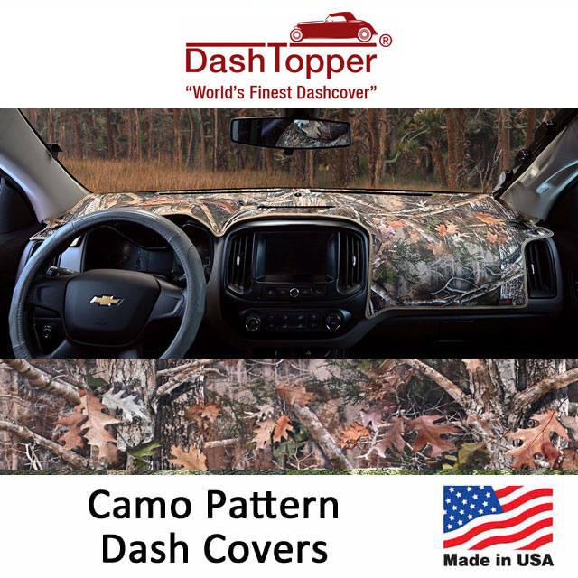 Dash Toppers Camo Dash Covers
