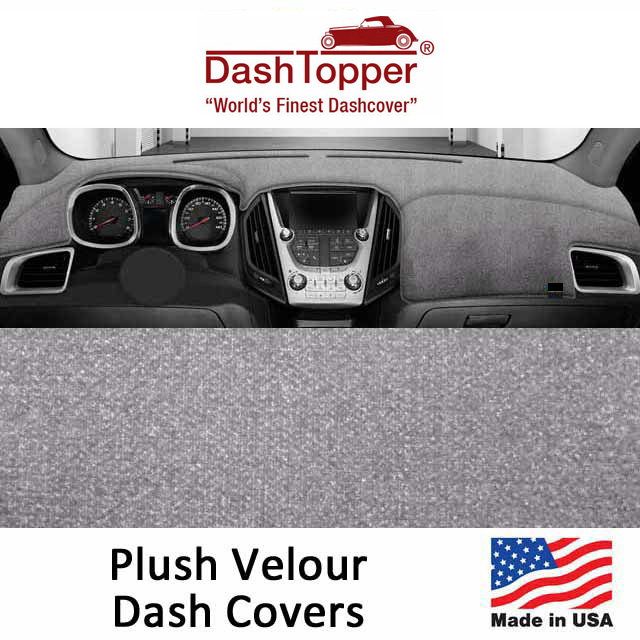 Dash Toppers Plush Velour Dash Covers