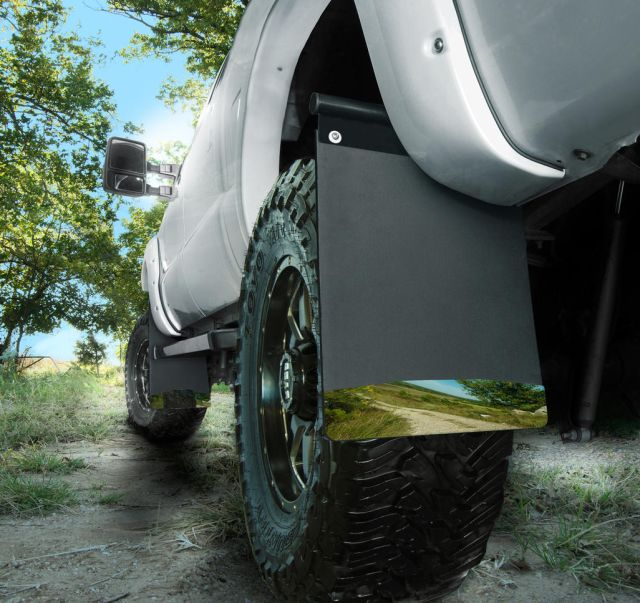 Husky Liners Removable Pivoting Mud Flaps