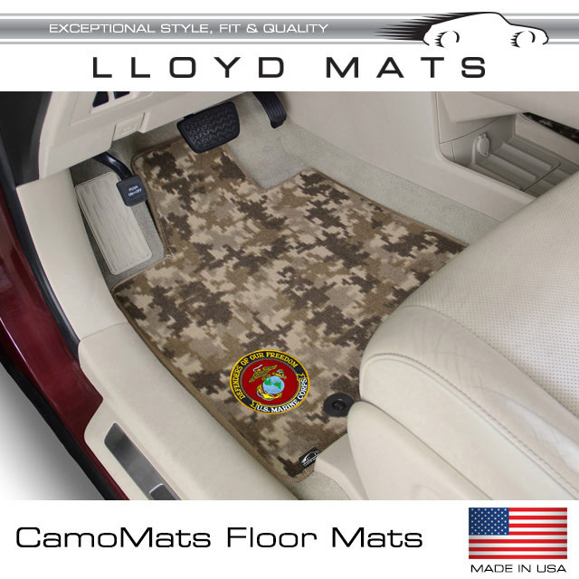 Camo Custom Fit Floor Mats