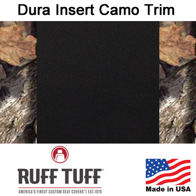 Dura EZ-Care Insert With Camo Pattern Trim Seat Covers