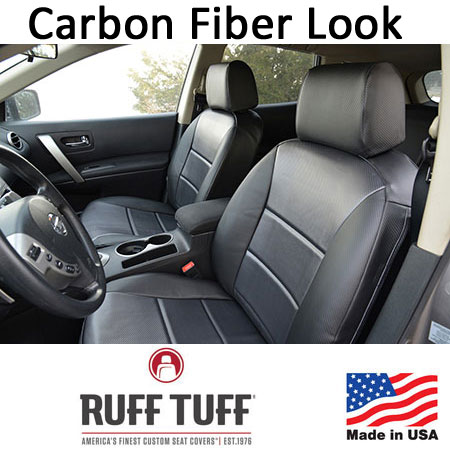 Carbon Fiber Look Seat Covers