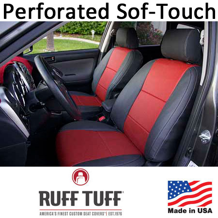 Perforated Sof-Touch Insert With Sof-Touch Trim Seat Covers