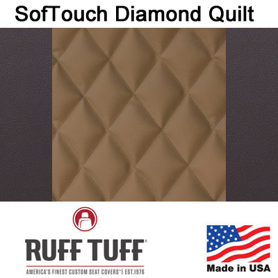 Sof-Touch Diamond Quilt Insert With Sof-Touch Trim Seat Covers