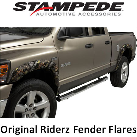 OE Style Fender Flares - Camo