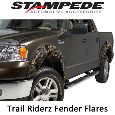 OE Style Extended Width Fender Flares - Camo
