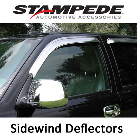 Sidewind Deflectors - Chrome